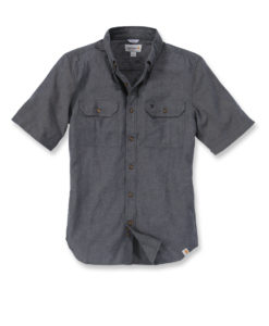 CARHARTT Fort Solid Shirt Short Sleeve black