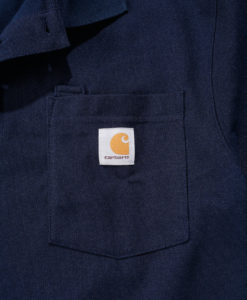 CARHARTT Contractor´s Work Pocket™ Polo Navy D1