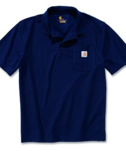 CARHARTT Contractor´s Work Pocket™ Polo Navy