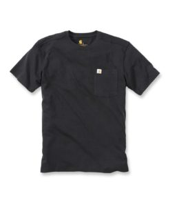 CARHARTT Maddock Pocket Short Sleeve T-Shirt black