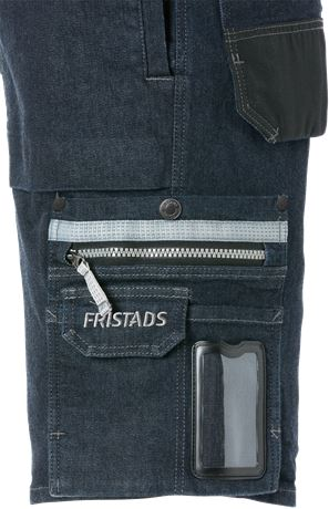 FRISTADS Hantverkarshorts Denim Stretch 2137 DCS