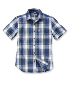 CARHARTT Slim Fit Plaid Shirt S/S