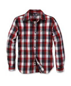 CARHARTT Slim Fit Plaid Shirt LS